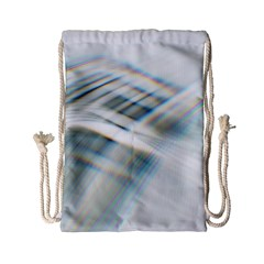 Business Background Abstract Drawstring Bag (small)