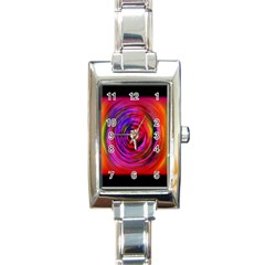 Colors Of My Life Rectangle Italian Charm Watch