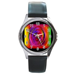 Colors Of My Life Round Metal Watch