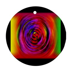 Colors Of My Life Ornament (round)