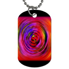Colors Of My Life Dog Tag (One Side)