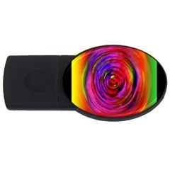 Colors Of My Life Usb Flash Drive Oval (2 Gb)