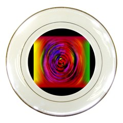 Colors Of My Life Porcelain Plates
