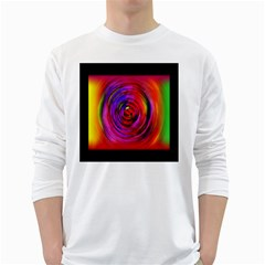 Colors Of My Life White Long Sleeve T Shirts