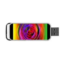 Colors Of My Life Portable Usb Flash (one Side)