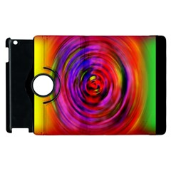 Colors Of My Life Apple Ipad 2 Flip 360 Case