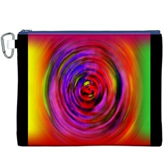 Colors Of My Life Canvas Cosmetic Bag (XXXL)