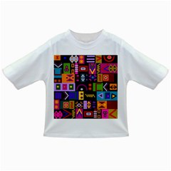 Abstract A Colorful Modern Illustration Infant/toddler T Shirts