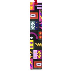 Abstract A Colorful Modern Illustration Large Book Marks
