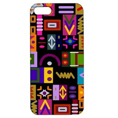 Abstract A Colorful Modern Illustration Apple Iphone 5 Hardshell Case With Stand