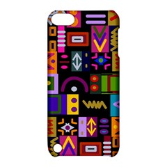 Abstract A Colorful Modern Illustration Apple iPod Touch 5 Hardshell Case with Stand