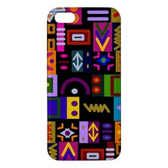 Abstract A Colorful Modern Illustration iPhone 5S/ SE Premium Hardshell Case