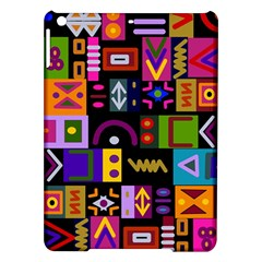 Abstract A Colorful Modern Illustration iPad Air Hardshell Cases