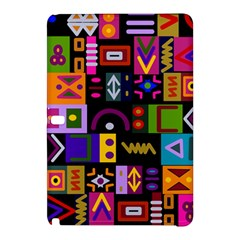 Abstract A Colorful Modern Illustration Samsung Galaxy Tab Pro 12.2 Hardshell Case