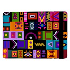 Abstract A Colorful Modern Illustration Samsung Galaxy Tab Pro 12 2  Flip Case