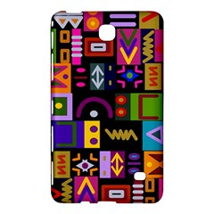 Abstract A Colorful Modern Illustration Samsung Galaxy Tab 4 (7 ) Hardshell Case