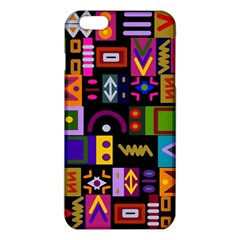 Abstract A Colorful Modern Illustration iPhone 6 Plus/6S Plus TPU Case
