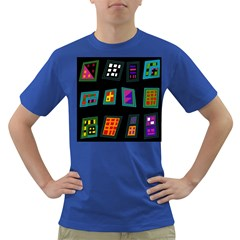 Abstract A Colorful Modern Illustration Dark T Shirt