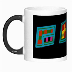 Abstract A Colorful Modern Illustration Morph Mugs