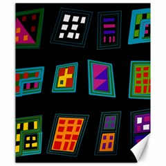 Abstract A Colorful Modern Illustration Canvas 20  X 24