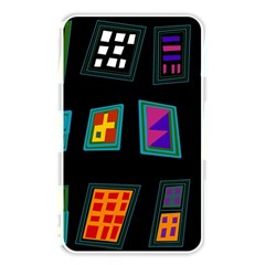 Abstract A Colorful Modern Illustration Memory Card Reader
