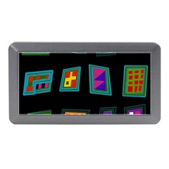 Abstract A Colorful Modern Illustration Memory Card Reader (Mini)