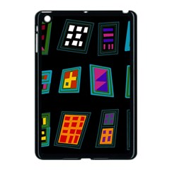 Abstract A Colorful Modern Illustration Apple iPad Mini Case (Black)
