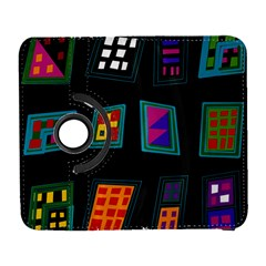 Abstract A Colorful Modern Illustration Galaxy S3 (flip/folio)