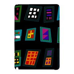 Abstract A Colorful Modern Illustration Samsung Galaxy Tab Pro 10.1 Hardshell Case