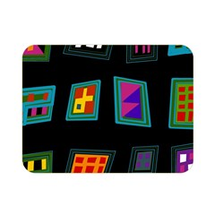 Abstract A Colorful Modern Illustration Double Sided Flano Blanket (Mini)