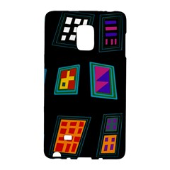 Abstract A Colorful Modern Illustration Galaxy Note Edge