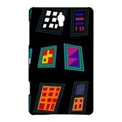 Abstract A Colorful Modern Illustration Samsung Galaxy Tab S (8.4 ) Hardshell Case