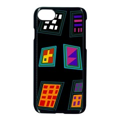 Abstract A Colorful Modern Illustration Apple Iphone 7 Seamless Case (black)