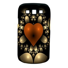Fractal Of A Red Heart Surrounded By Beige Ball Samsung Galaxy S Iii Classic Hardshell Case (pc+silicone)