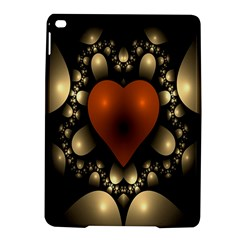 Fractal Of A Red Heart Surrounded By Beige Ball Ipad Air 2 Hardshell Cases