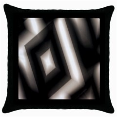 Abstract Hintergrund Wallpapers Throw Pillow Case (Black)