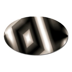 Abstract Hintergrund Wallpapers Oval Magnet