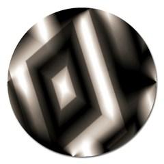 Abstract Hintergrund Wallpapers Magnet 5  (Round)