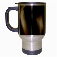 Abstract Hintergrund Wallpapers Travel Mug (silver Gray)