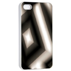 Abstract Hintergrund Wallpapers Apple iPhone 4/4s Seamless Case (White)