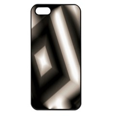 Abstract Hintergrund Wallpapers Apple iPhone 5 Seamless Case (Black)