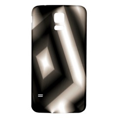 Abstract Hintergrund Wallpapers Samsung Galaxy S5 Back Case (White)