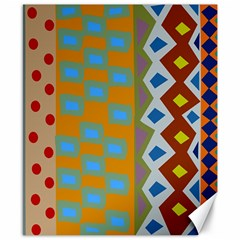 Abstract A Colorful Modern Illustration Canvas 8  X 10