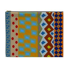 Abstract A Colorful Modern Illustration Cosmetic Bag (xl)