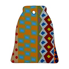 Abstract A Colorful Modern Illustration Ornament (bell)