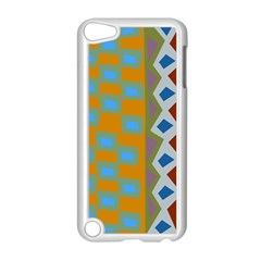 Abstract A Colorful Modern Illustration Apple iPod Touch 5 Case (White)