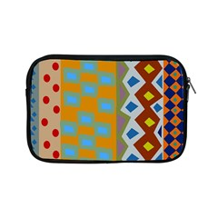 Abstract A Colorful Modern Illustration Apple iPad Mini Zipper Cases