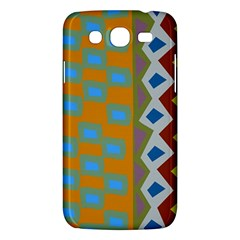 Abstract A Colorful Modern Illustration Samsung Galaxy Mega 5.8 I9152 Hardshell Case