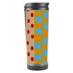 Abstract A Colorful Modern Illustration Travel Tumbler