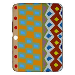 Abstract A Colorful Modern Illustration Samsung Galaxy Tab 3 (10.1 ) P5200 Hardshell Case